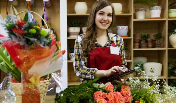 The skill set of florist